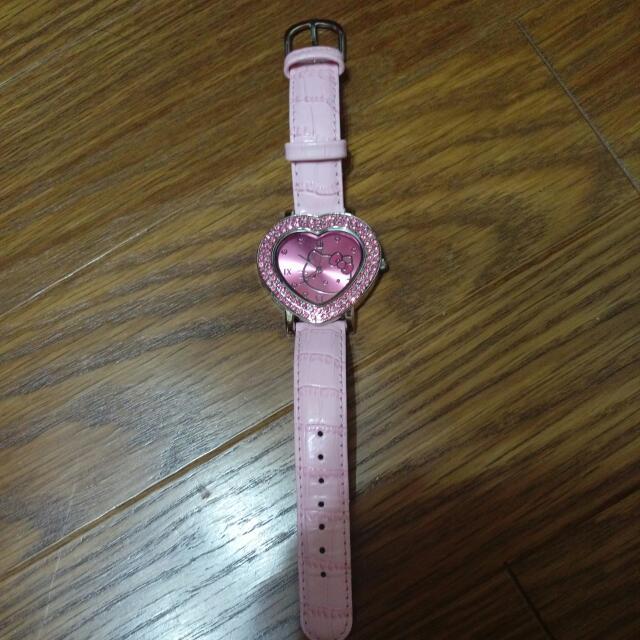 Casio Hellokitty手錶 正的