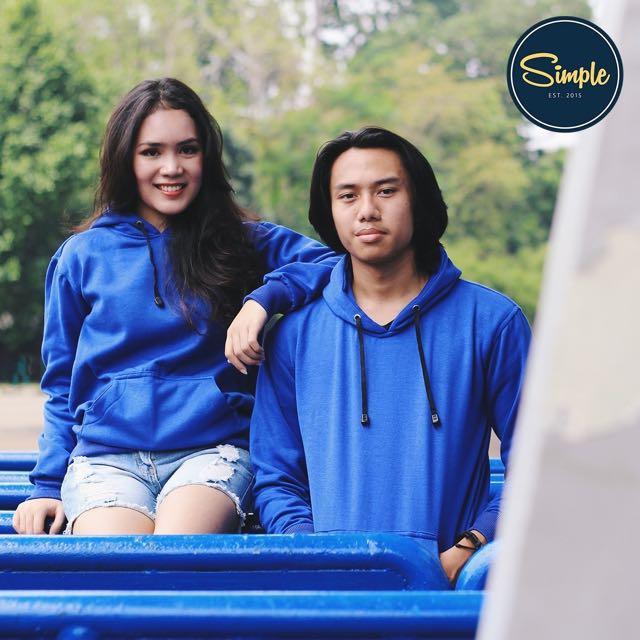 COUPLE Blue Jumper