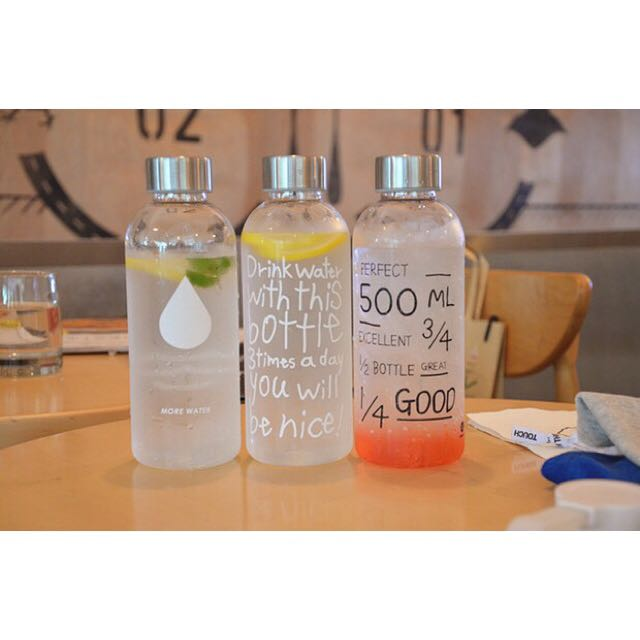 Cute Water Bottles From Korea Bulletin Board Preorders On Carousell