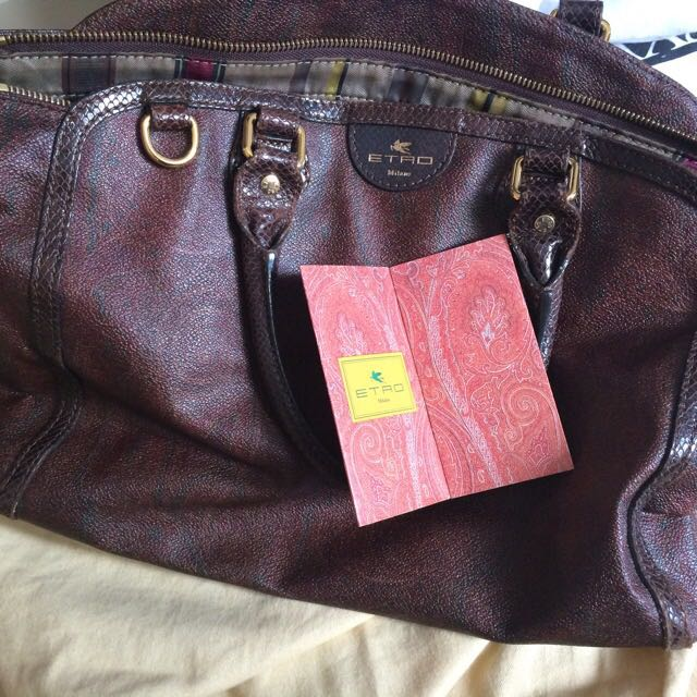 Etro Genuine Bag $250