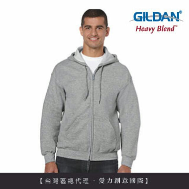 Gildan素面連帽外套