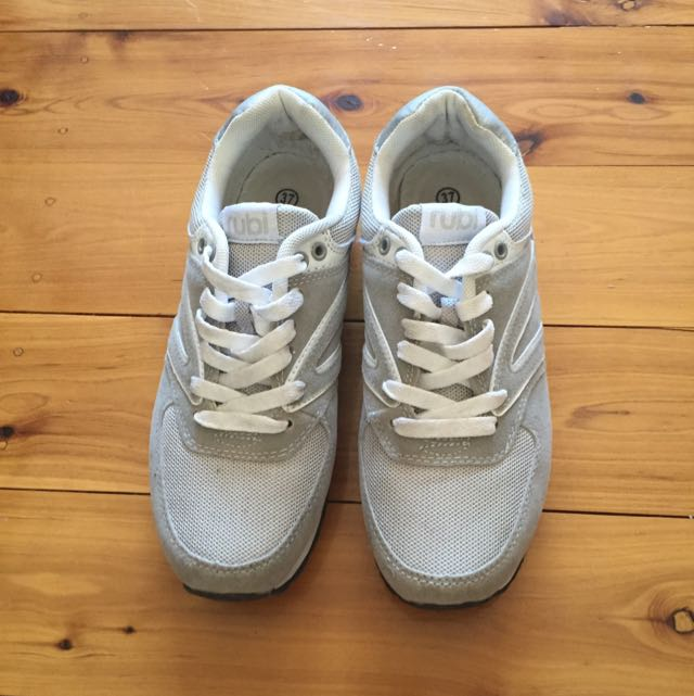 Grey Sneakers Rubi Shoes 37