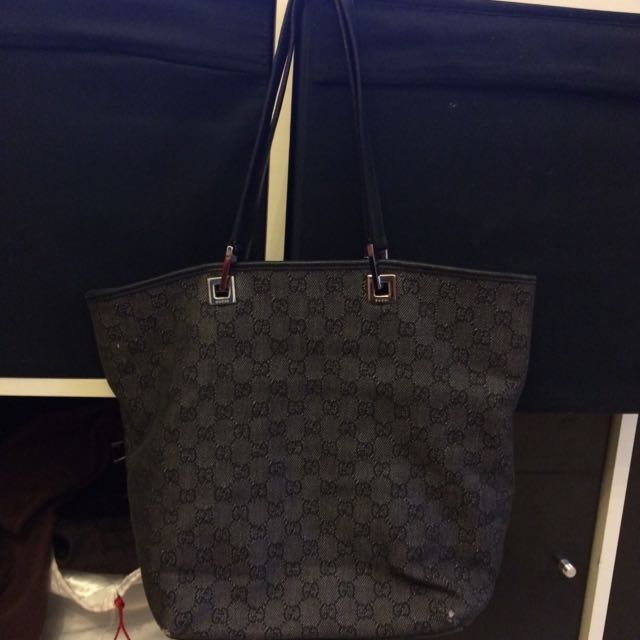 Gucci Denim Bag $250