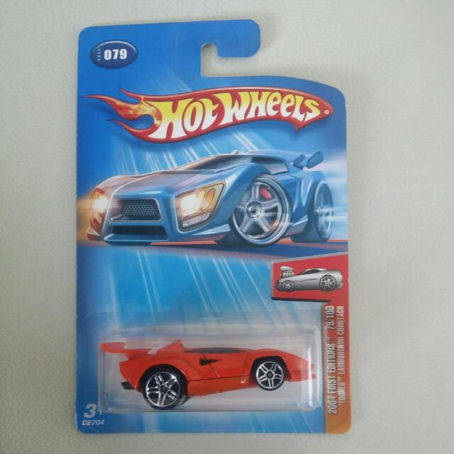 Hot Wheels Tooned Lamborghini Countach Toys Games On Carousell