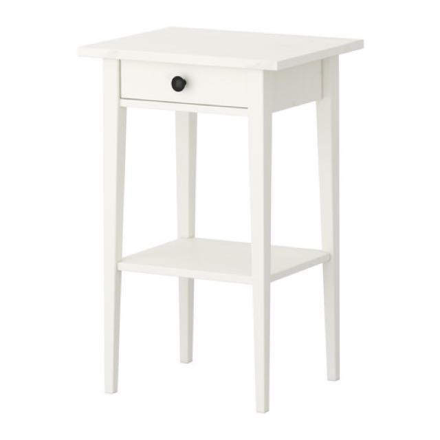 IKEA Hemnes Bed Side Table (2x)