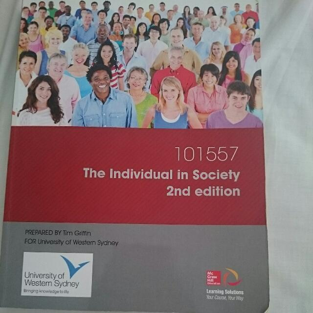 Individual In Society textbook
