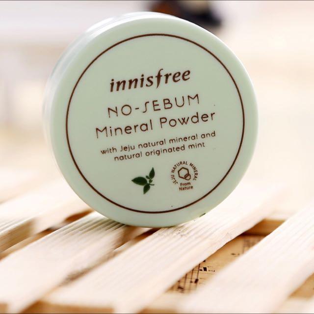 Innisfree 礦物質控油蜜粉 5g innisfree no sebum mineral powder