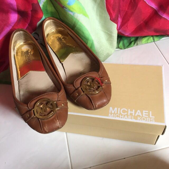 Michael Kors Fulton Leather Moccasin