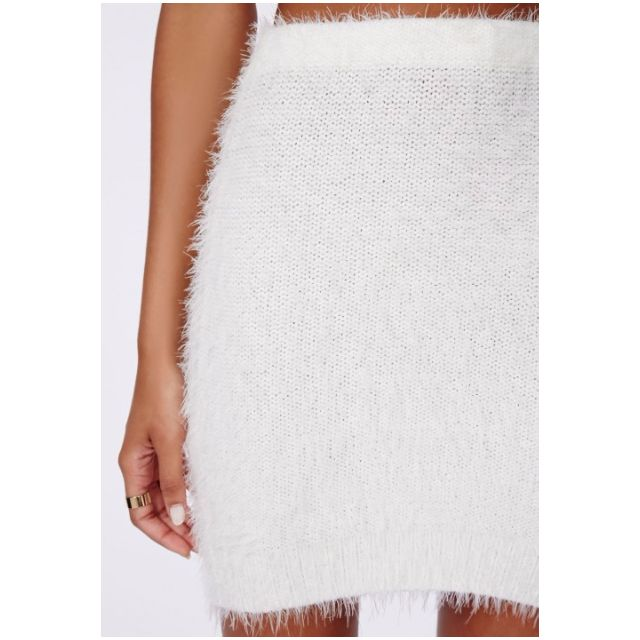 Misguided Fluffy Skirt Size S