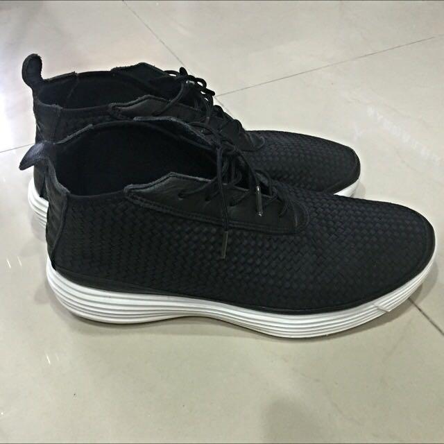 Nike Lunar Woven Chukka Black/white