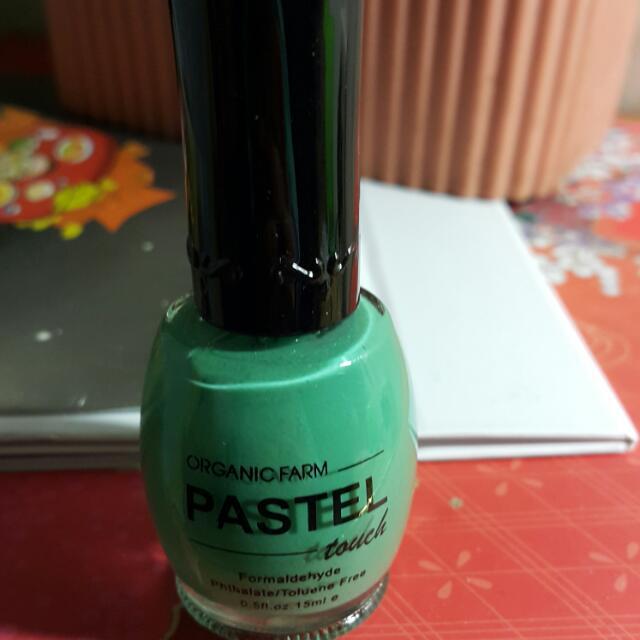PASTEL 消光綠指甲油