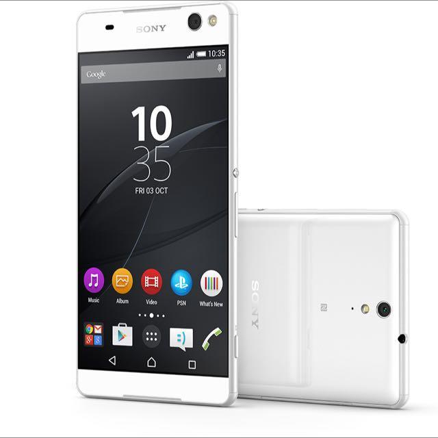Sony C5 ultra大大機(白)