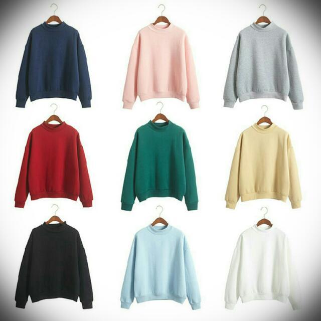 限時🔥買一送一🔥實拍🎉棉花糖色調大學T/衛衣🎉優質好穿選我們