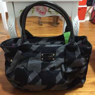 Authentic Kate Spade Hearthstone Houndstouth Bag