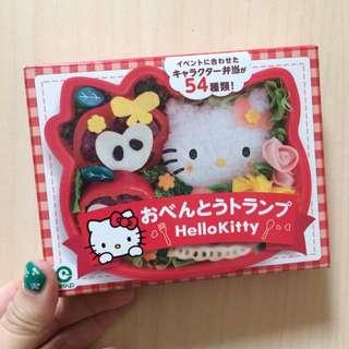 Hello Kitty 大臉便當造型 撲克牌  日本製