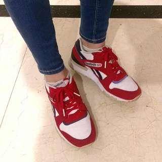 Reebok GL6000 韓國復古慢跑鞋紅白配色