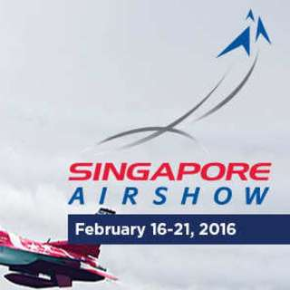 Singapore Airshow 2016 Single Ticket