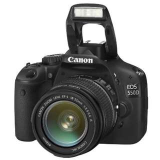 Canon EOS 550D 18 Megapixel DSLR