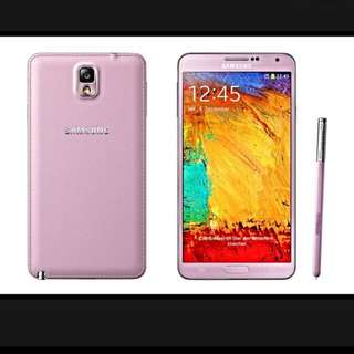 Samsung Galaxy Note 3 32gb Pink 💋RESERVED💋