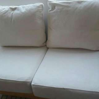 2 Seater Sofa. Condition 8/10. Covers Are Washable.