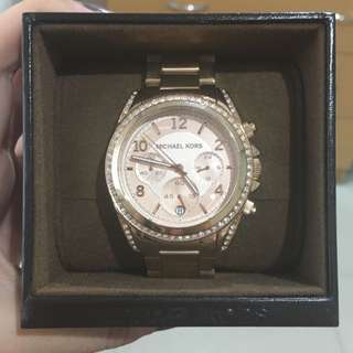 Michael Kors Authentic Rose Gold Watch