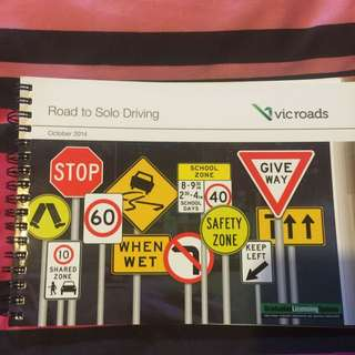 Road To Solo Driving Handbook