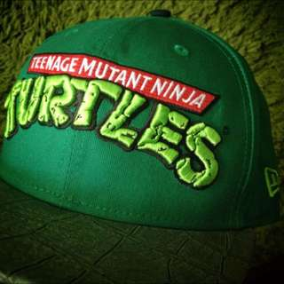 Teenage Mutant Ninja Turtles TMNT Official Logo Strapback 9FIFTY Cap