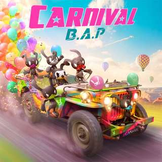 비에이피 (B.A.P) - Carnival (5th Mini Album) [Normal Ver.]