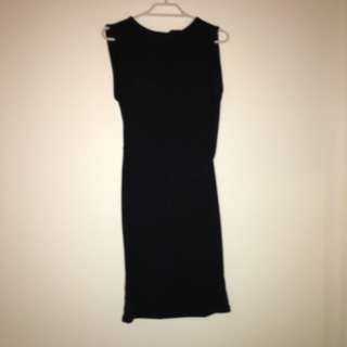 Size 8 LBD Open Back Bodycon