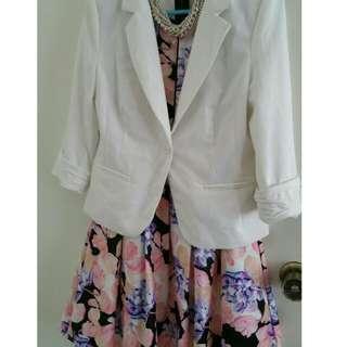PENDING* Floral A-line Dress Size 10
