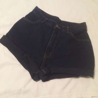 VINTAGE HIGH-WAISTED SHORTS