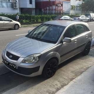 Kio Rio hatchback 1.4L Auto Cheap Rental