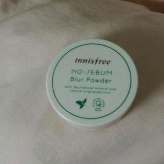 《二手》Innisfree No Sebum Blur Powder 碎粉
