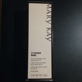 MK Hand And Décolletage Sunscreen