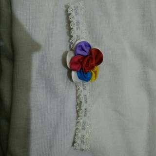 Bandana Bayi - Flower Colour