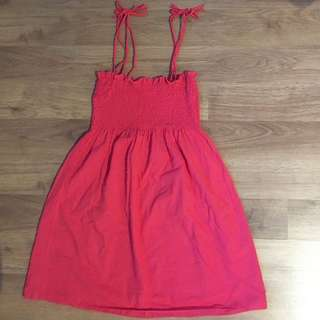 Coral Summer Top (Straps/Strapless)