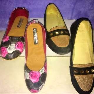 50rb Dapet 2 Flatshoes