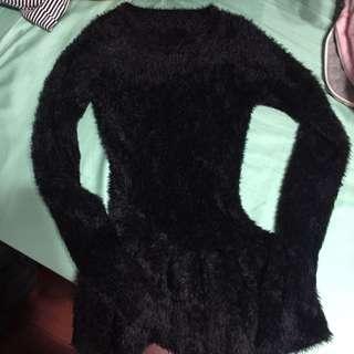 全新暖暖毛傘狀上衣