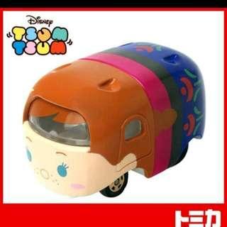 迪士尼 疊疊車 TSUM TSUM 疊疊小車 冰雪奇緣 安娜