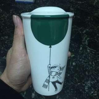 星巴克杯 全新 玻璃杯