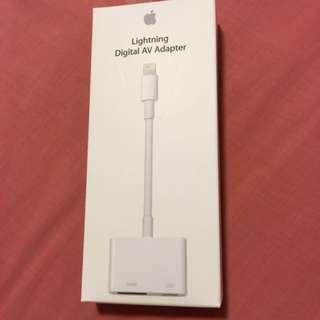 Apple Lightning Digital AV Adapter Brand New!!