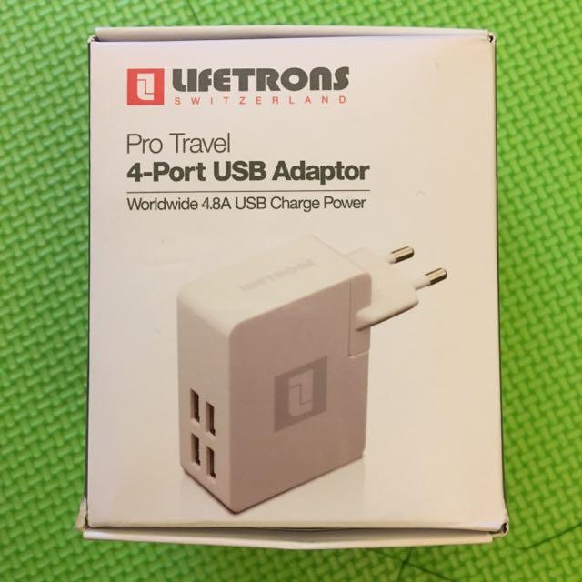 商務菁英首選4-port USB快充