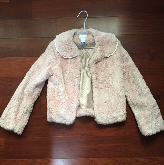 ✨二手時尚女孩兒👸🏻長毛開襟外套