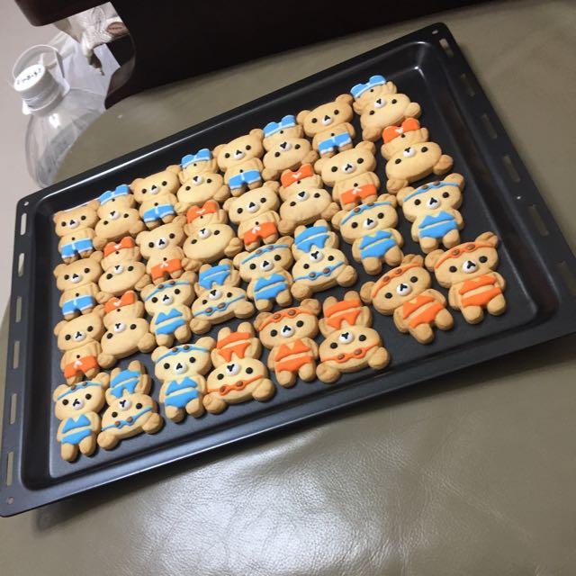 拉拉熊糖霜餅乾