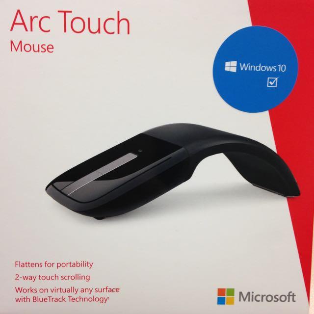 微軟 Arc Touch 滑鼠(黑色)含運價