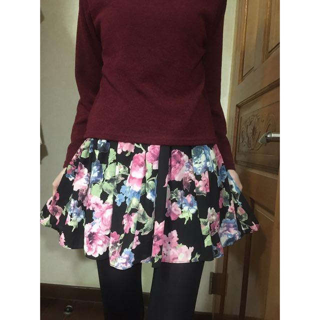 [二手]$$降價200$$ 韓國空運* 正版Realcoco 雪紡花朵裙