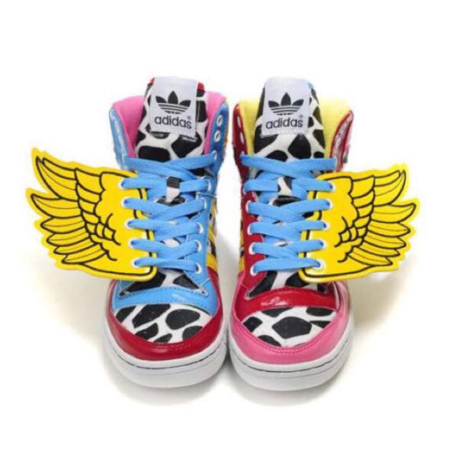 hot sale online 4cd1a 28fd3 ... Adidas Originals By Jeremy Scott x 2NE1 JS wingsmen es talla 42 most  fashionable outlet 3a5df ...