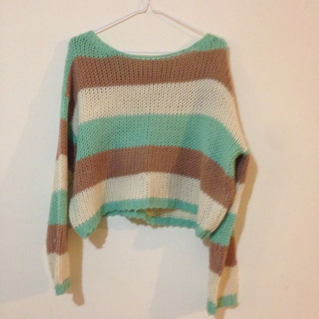 Baggy Knit Sweater. One Size.