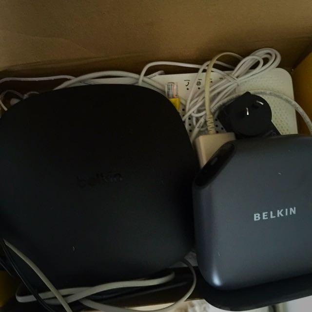 Belkin modem+ Optus Modem