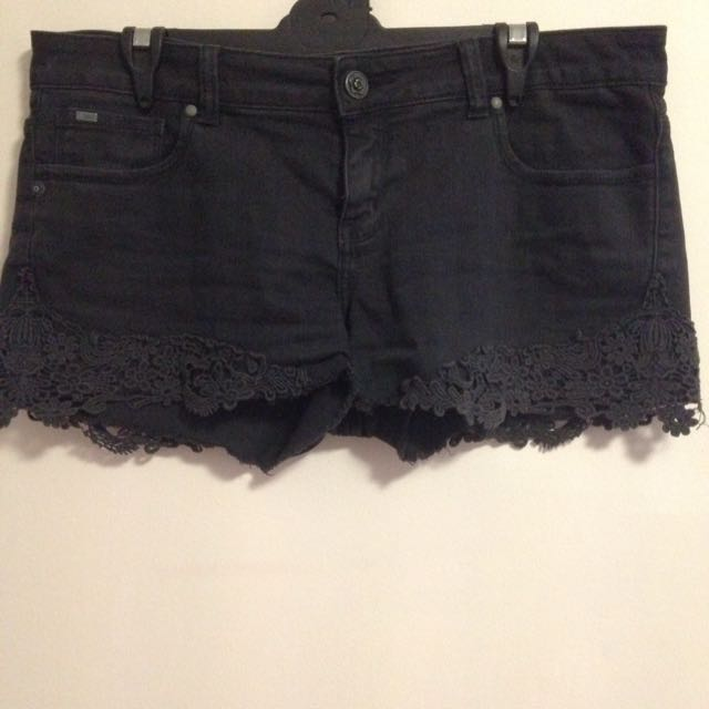 Black Denim Pimkie Shorts